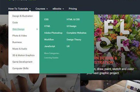 نکات طراحی UX برای منوهای کشویی